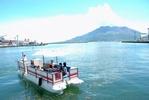 かごしまベイクルーズで錦江湾クルージング