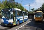 桜島の北側・市営バス