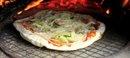 溶岩で、ピザ窯作り&ピザ作り