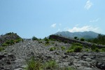 溶岩ウォーキング